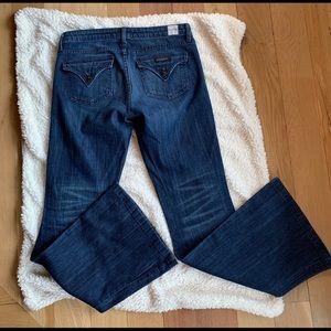 Hudson Woodstock Flap Pocket Flares jeans Med Wash